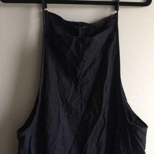 Dark Navy Overalls/ Romper/ Pantsuit